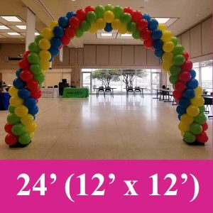4 color balloon arches dallas and fort worth