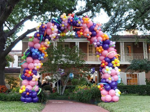 balloon arches - Affairs Afloat Balloons, Fort Worth