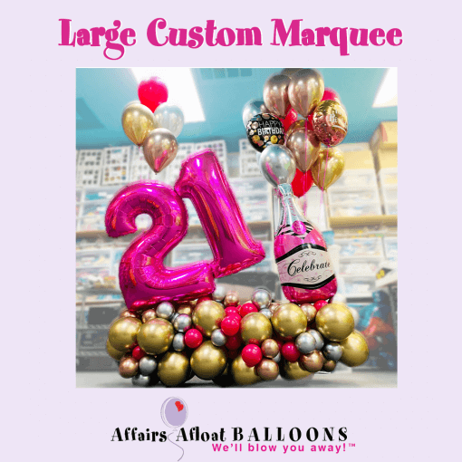 balloon deocrations and bouquetsfort worth - Affairs Afloat Balloons