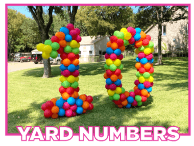 balloon yard numbers fort worth