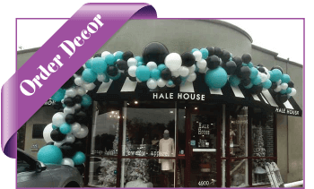 order balloon decorations online dfw