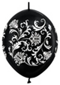Damask Pearl Black
