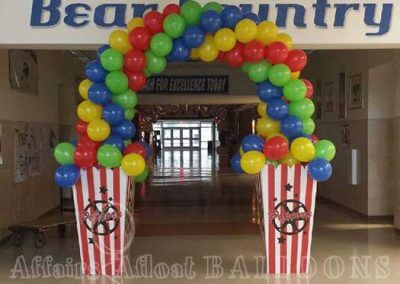 Balloon Arches from Affairs Afloat Balloons serving Dallas and Fort Worth Texas