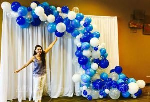 Organic Balloon Arches from Affairs Afloat Balloons serving Dallas and Fort Worth Texas