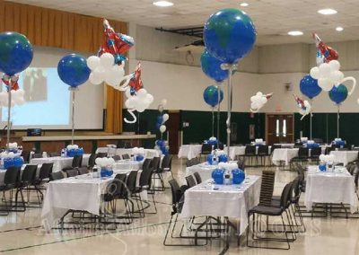 Balloon Decorations from Affairs Afloat Balloons serving Dallas and Fort Worth Texas