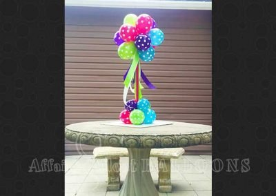 Table Decor Balloons 36