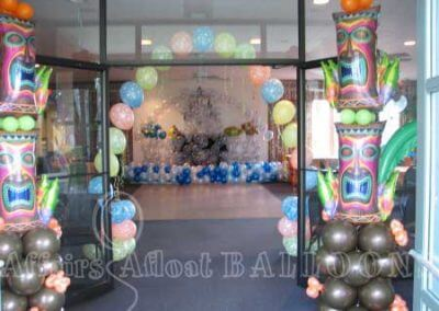 Party Pillar Balloons 26
