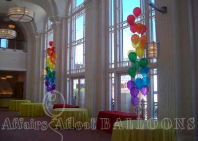 floor balloon bouquets, specialty balloons fort worth and Dallas area