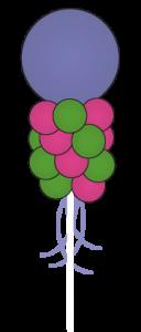 balloon-column-attention-grabber, dallas fort worth metroplex