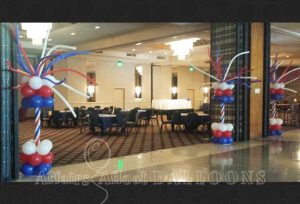 Balloon Columns from Affairs Afloat Balloons Fort Worth and Dallas