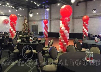 dance floor balloons in Dallas and Fort Worth