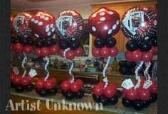 custom balloon decorations fort worth and dallas