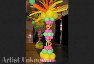 custom balloon decorations Dallas and Fort Worth area