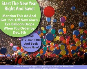 new years eve balloon drops dallas and fort worth