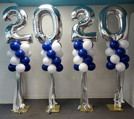 balloon yard decorations fort worth and dallas area