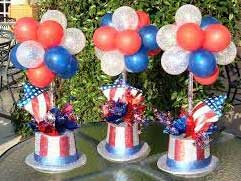 balloon centerpieces fort worth and dallas areas