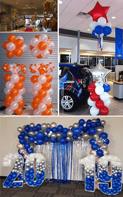 balloon decoration packages fort worth dallas