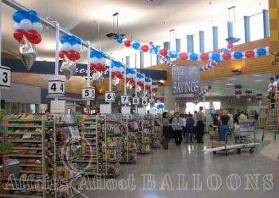 Balloon Arrangements for Corporate Events from Affairs Afloat Balloons serving Dallas and Fort Worth