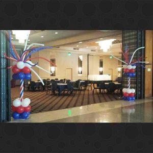 balloon-columns-fort-worth, dfw, dallas