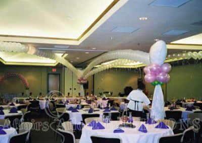 Dance floor balloons Dallas and Fort Worth area