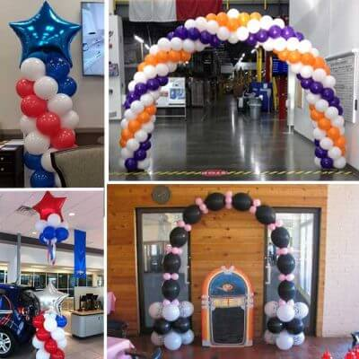 balloon decoration packages Dallas Fort Worth metroplex