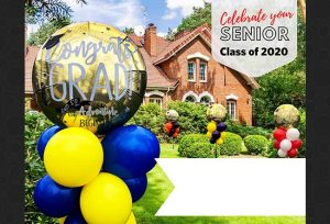 graduation balloon bouquets fort worth and dallas area