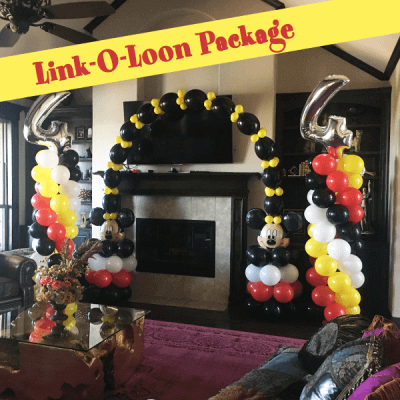 link-o-loon balloon decorations - Affairs Afloat Balloons, Fort Worth
