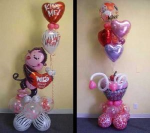 love theme balloon bouquets fort worth and dallas