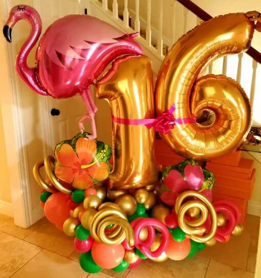 marquee balloon bouquets