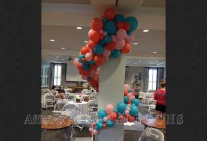 organic balloon arches dallas and fort worth metroplex
