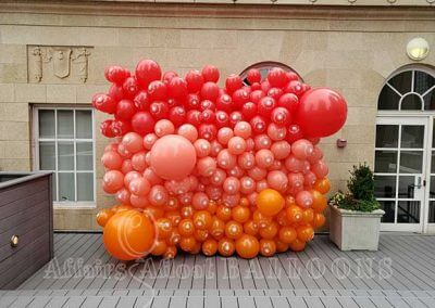 balloon backdrops fort worth and dallas