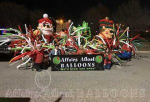 Balloons for parades dallas and fort wort