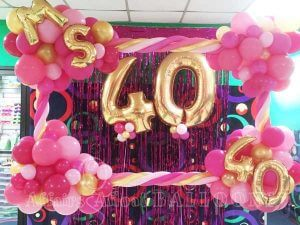 Specialty Custom Balloon Decor from Affairs Afloat Balloons serving Dallas and Fort Worth Texas