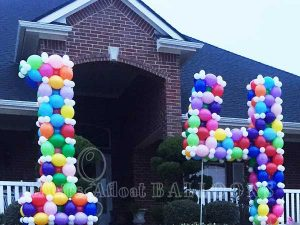 Large balloon numbers Dallas and Fort Worth areas