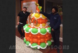 Specialty Custom Balloon Decor from Affairs Afloat Balloons servince Dalls and Fort Worth Texas