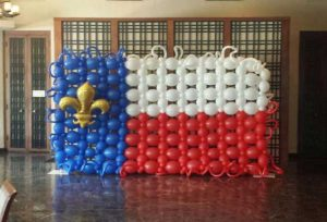 Specialty Ciustom Balloon Decororations from Affairs Afloat Balloons serving Dallas and Fort Worth Texas