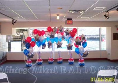 floor balloon bouquets, Specialty Custom Balloon Decorations from Affairs Afloat Balloons serving Dallas and Fort Worth Texas