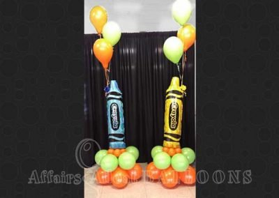 Floor Bouquet Balloons 10