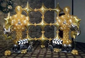 balloon backdrops, specialty balloons fort worth and dallas