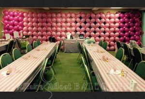 balloon backdrops, Specialty Ciustom Balloon Decoratoins from Affairs Afloat Balloons serving Dallas and Fort Worth Texas