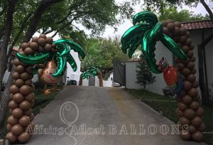 custom balloon decorations fort worth and dallas areas