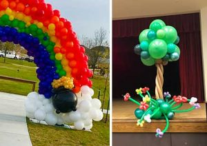 spring balloon decorations fort worth and dallas areas