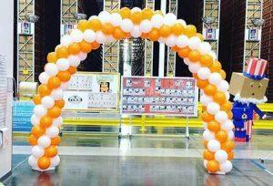 standard balloon arch dallas fort worth